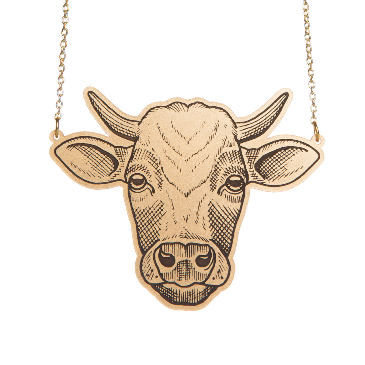 Amy Savage x Sugar & Vice Cow Necklace