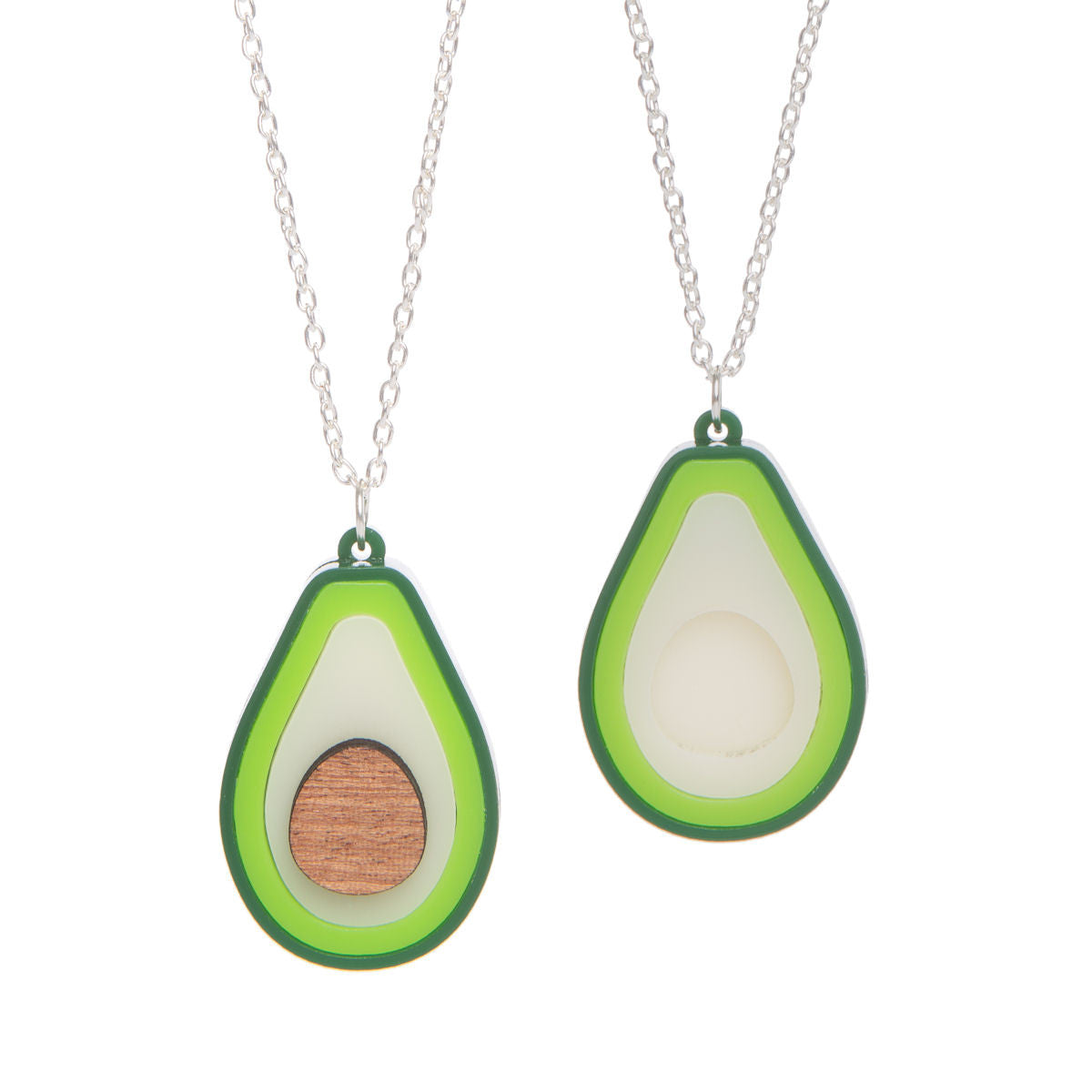 Sugar & Vice Avocado Necklace Set