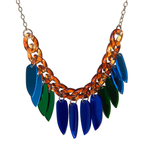 Beetle Wings Necklace