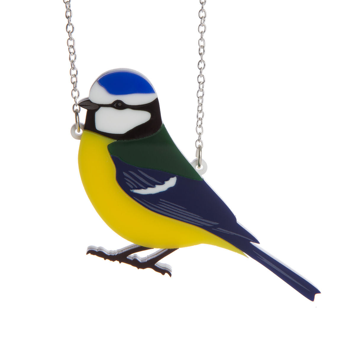 Sugar & Vice Blue Tit Necklace