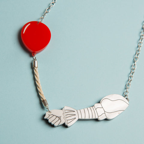Clown's Balloon Necklace