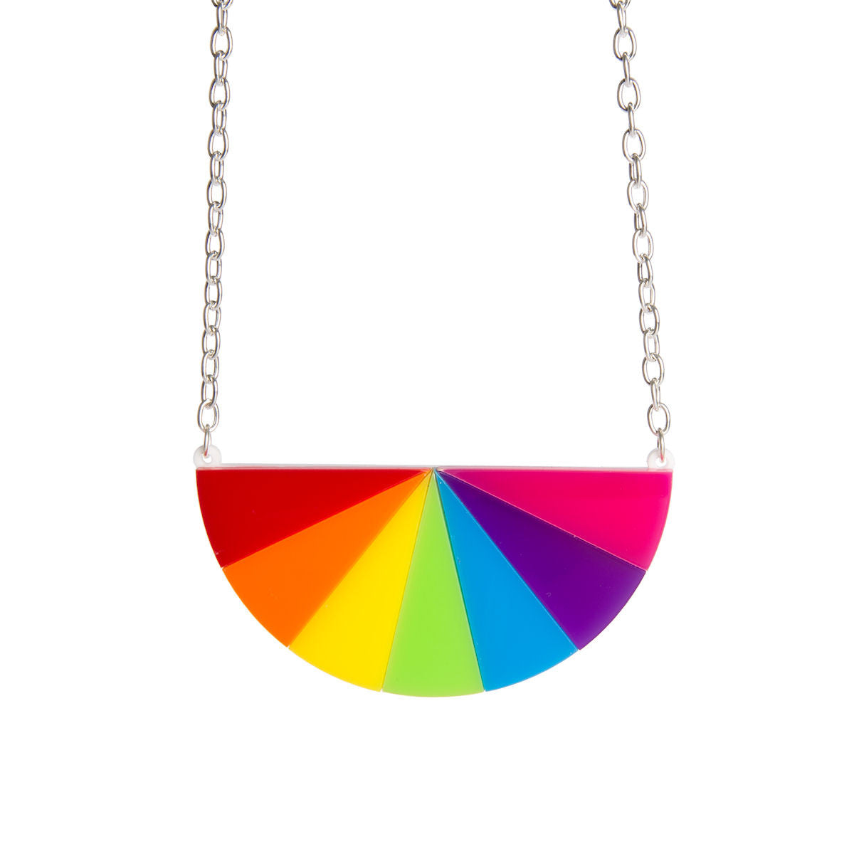Sugar & Vice Colour Wheel Necklace 1