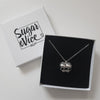 Sugar & Vice AG47 Conjoined Skull Necklace