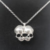 Sugar & Vice AG47 Conjoined Skull Necklace 2