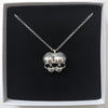 Sugar & Vice AG47 Conjoined Skull Necklace 3