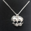 Sugar & Vice AG47 Conjoined Skull Necklace 4