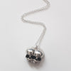 Sugar & Vice AG47 Conjoined Skull Necklace 5