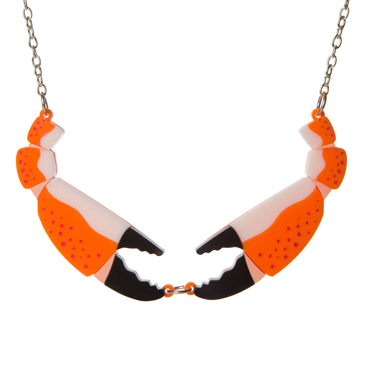 Sugar & Vice Crab Claws Necklace