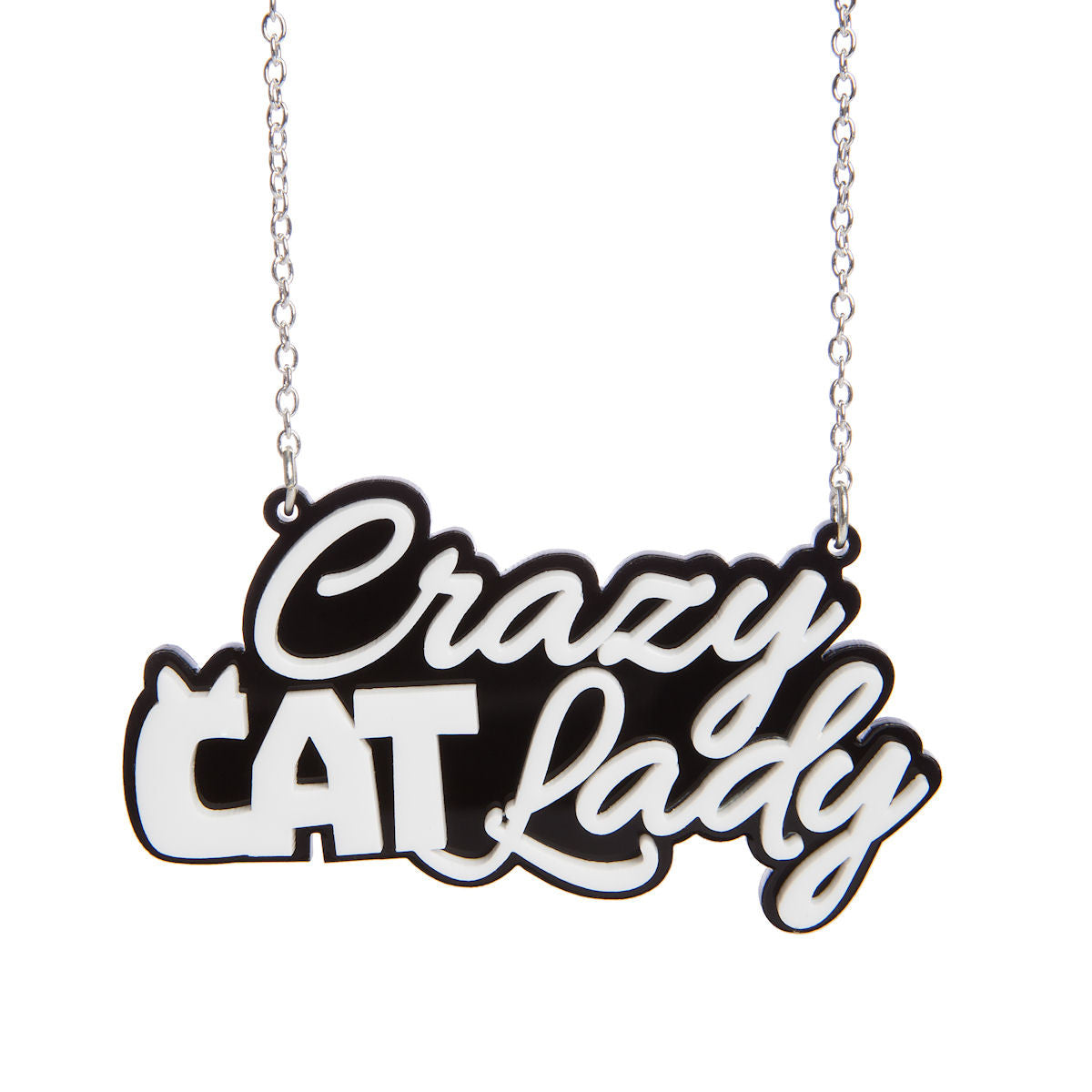 Sugar & Vice Crazy Cat Lady Necklace