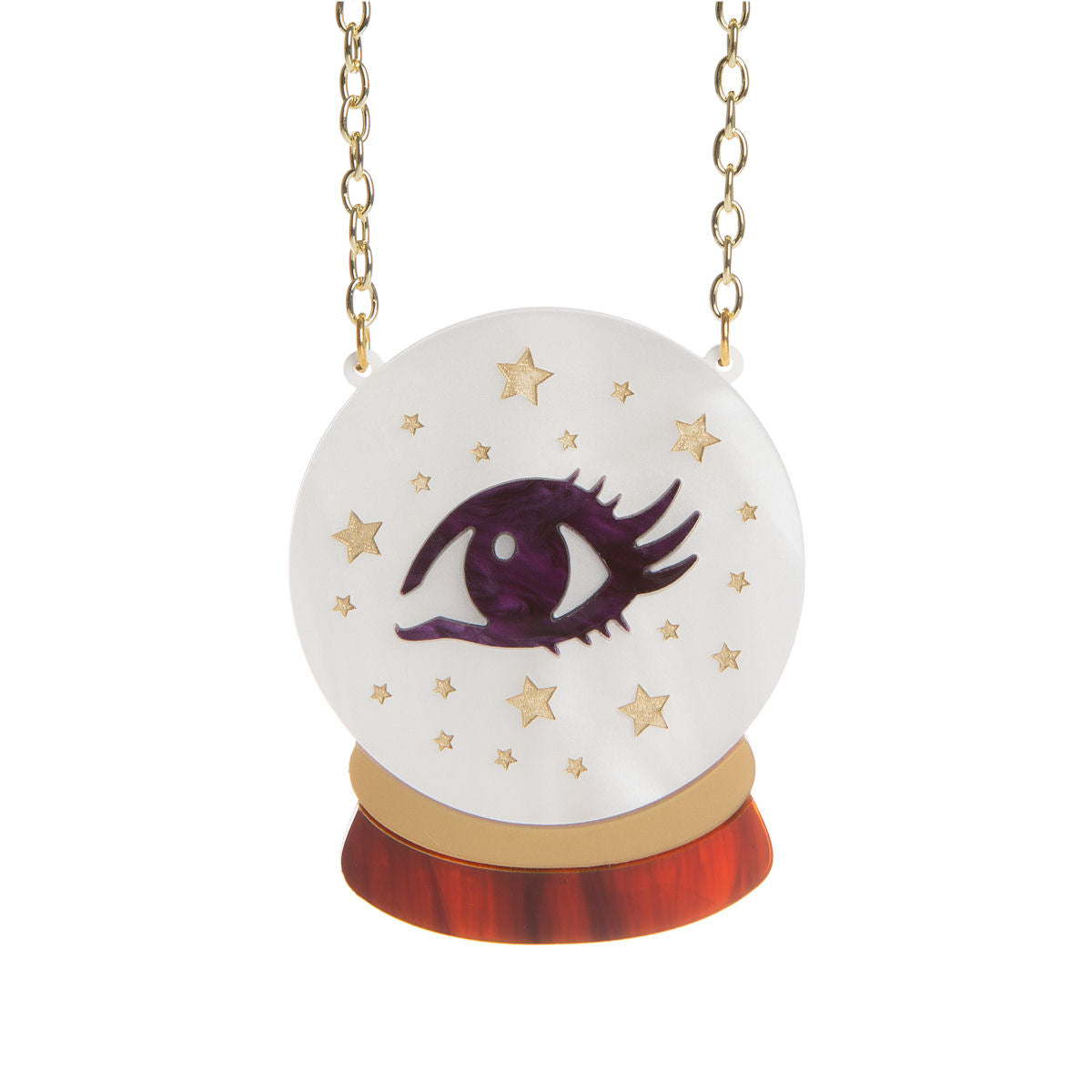 Sugar & Vice Crystal Ball Necklace