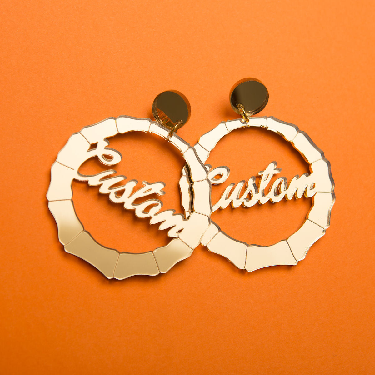 Sugar & Vice Bamboo earrings social media