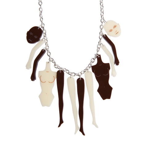 Doll Parts Necklace