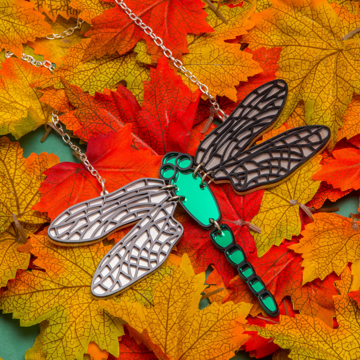 Sugar & Vice Dragonfly necklace social media