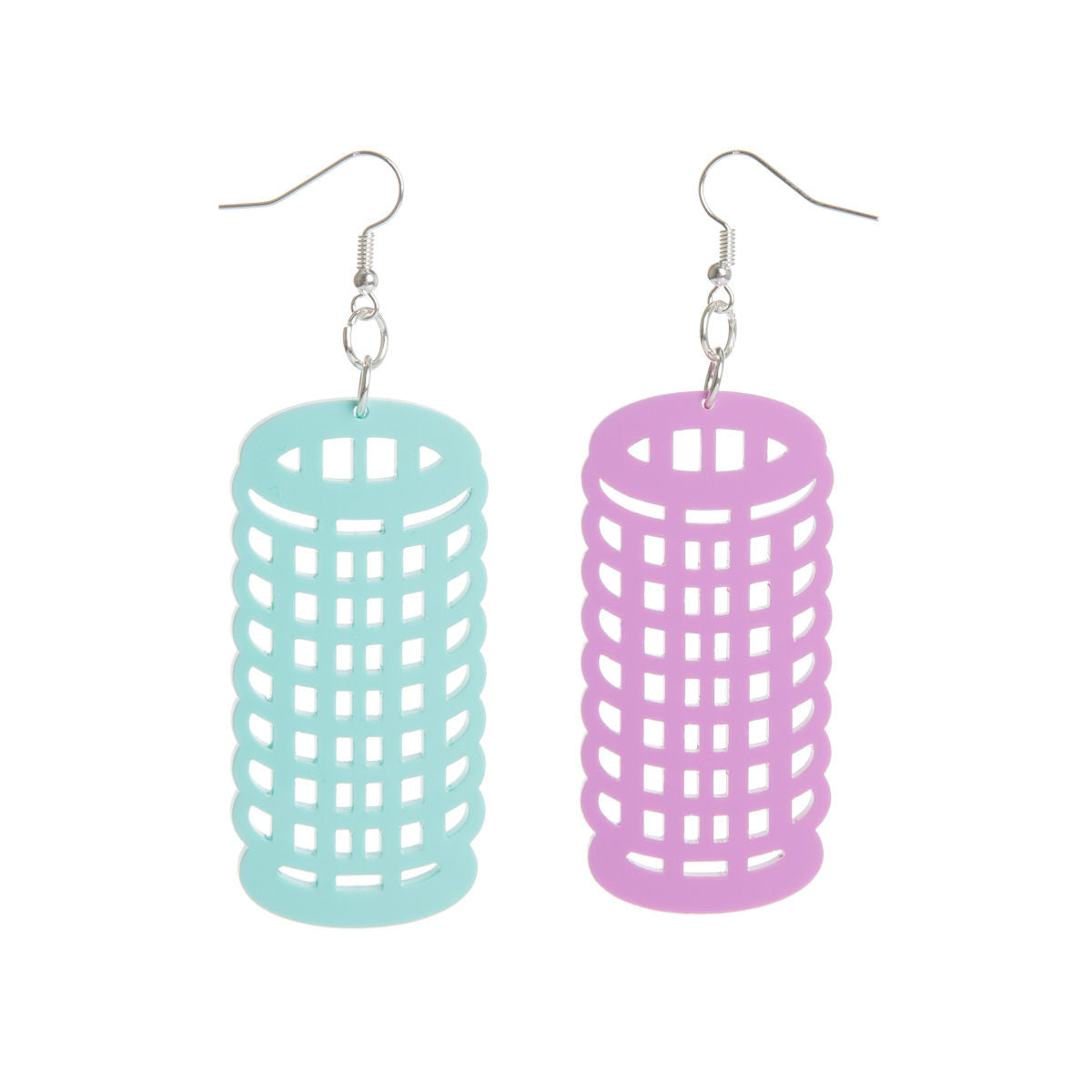 Sugar & Vice Hair Roller Earrings