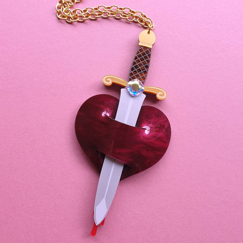 Wounded Heart Necklace
