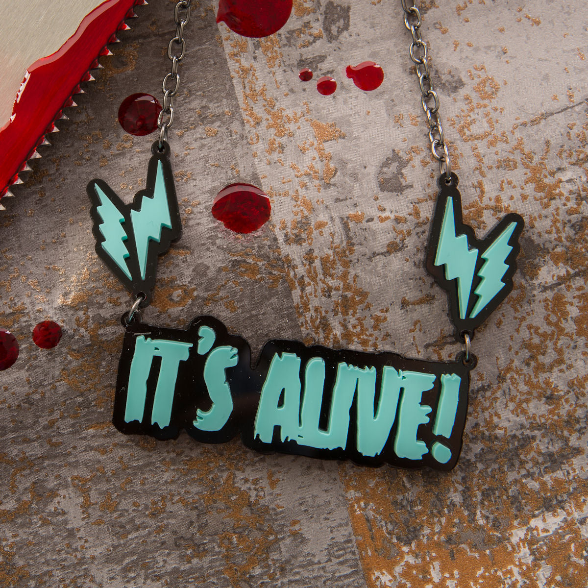 Sugar & Vice It's Alive necklace sm