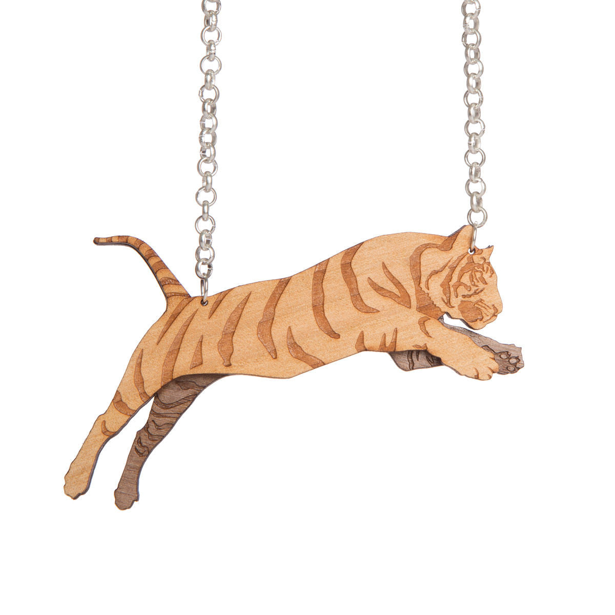Sugar & Vice Leaping Tiger Necklace