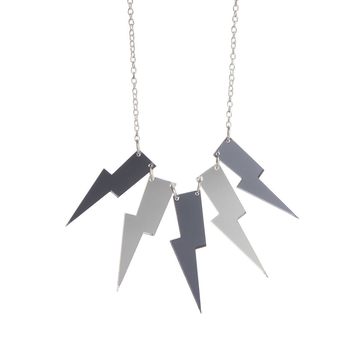 Sugar & Vice Lightning Bolt Necklace