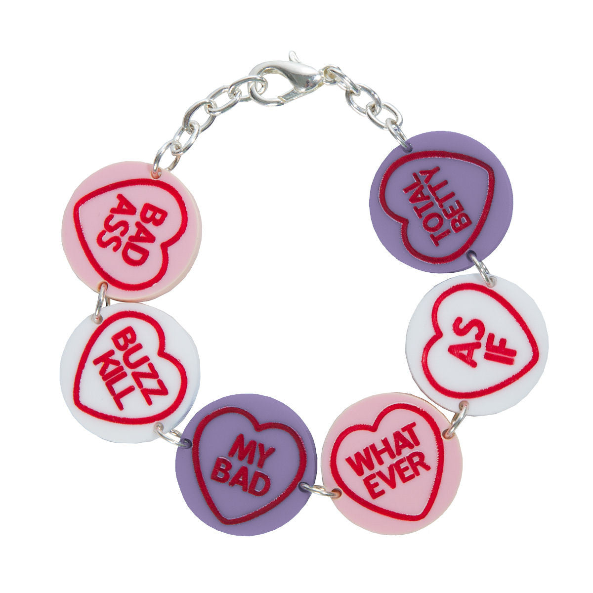 Sugar & Vice Love Hearts Bracelet