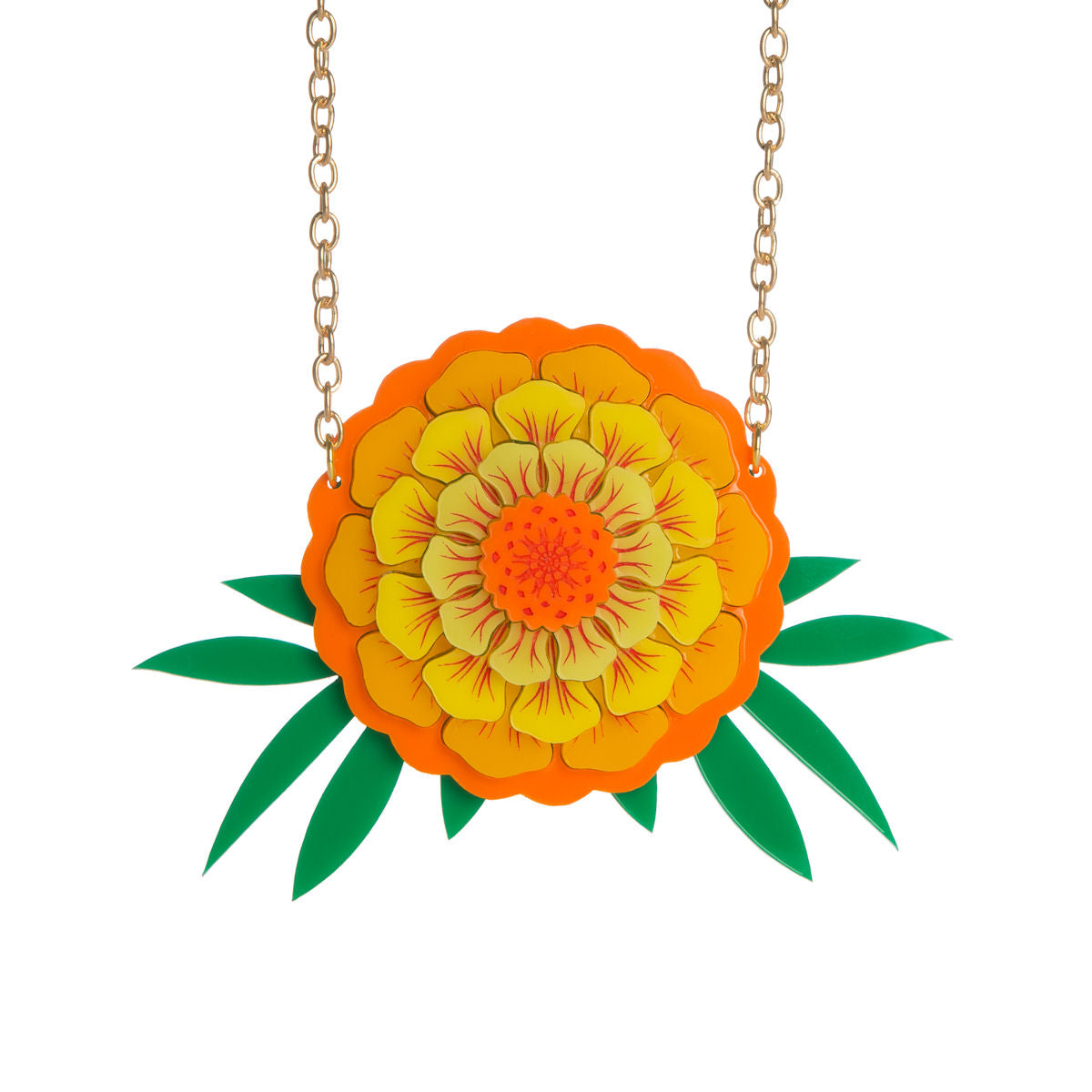 Sugar & Vice Marigold Necklace