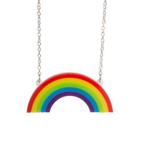 Mini Rainbow Necklace - also in pastel