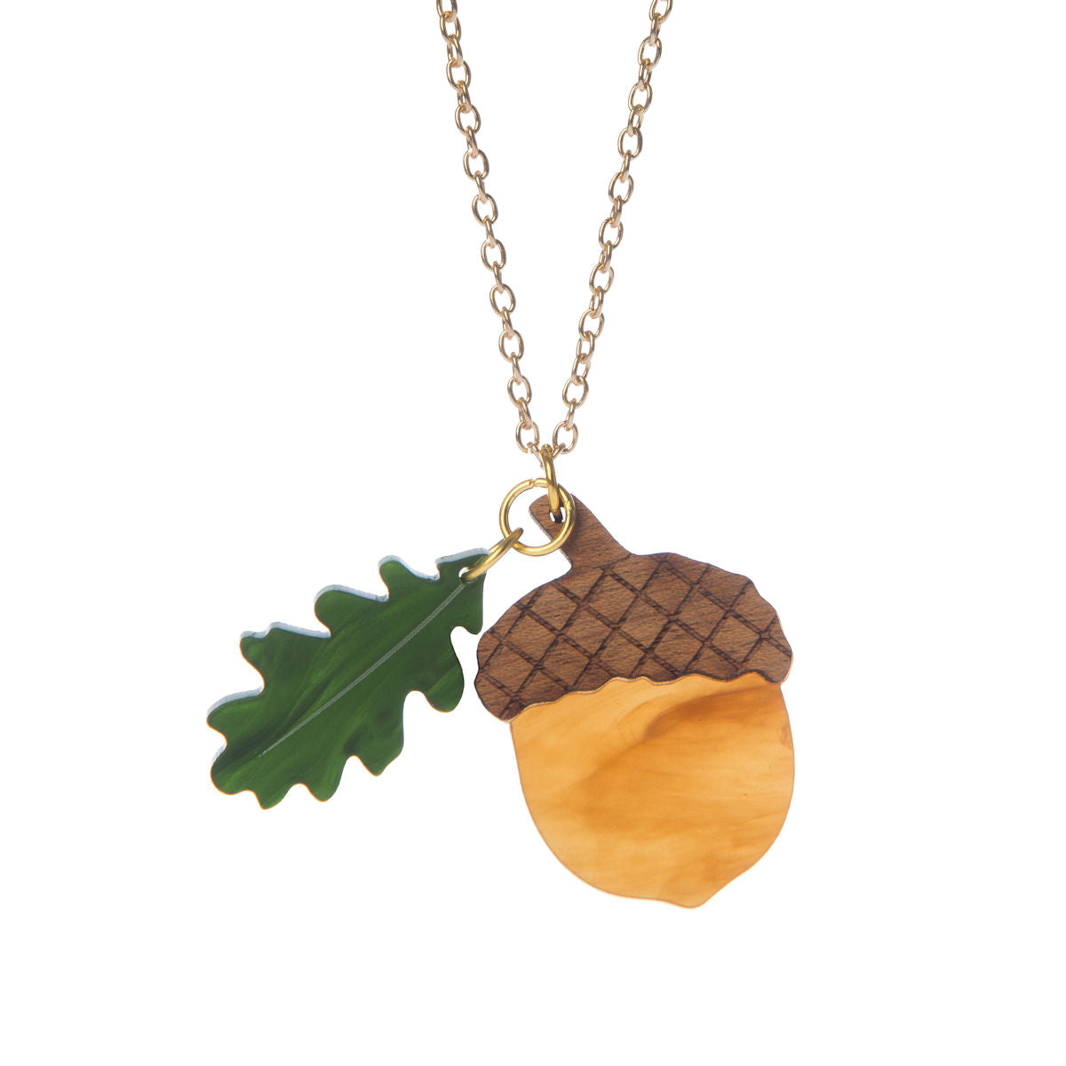 Sugar & Vice Acorn Necklace