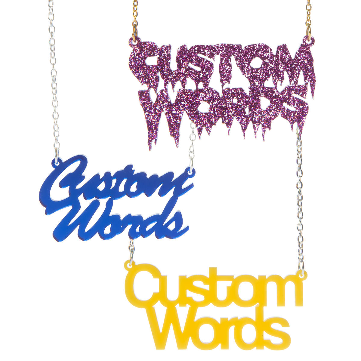 Two Word Name Necklace