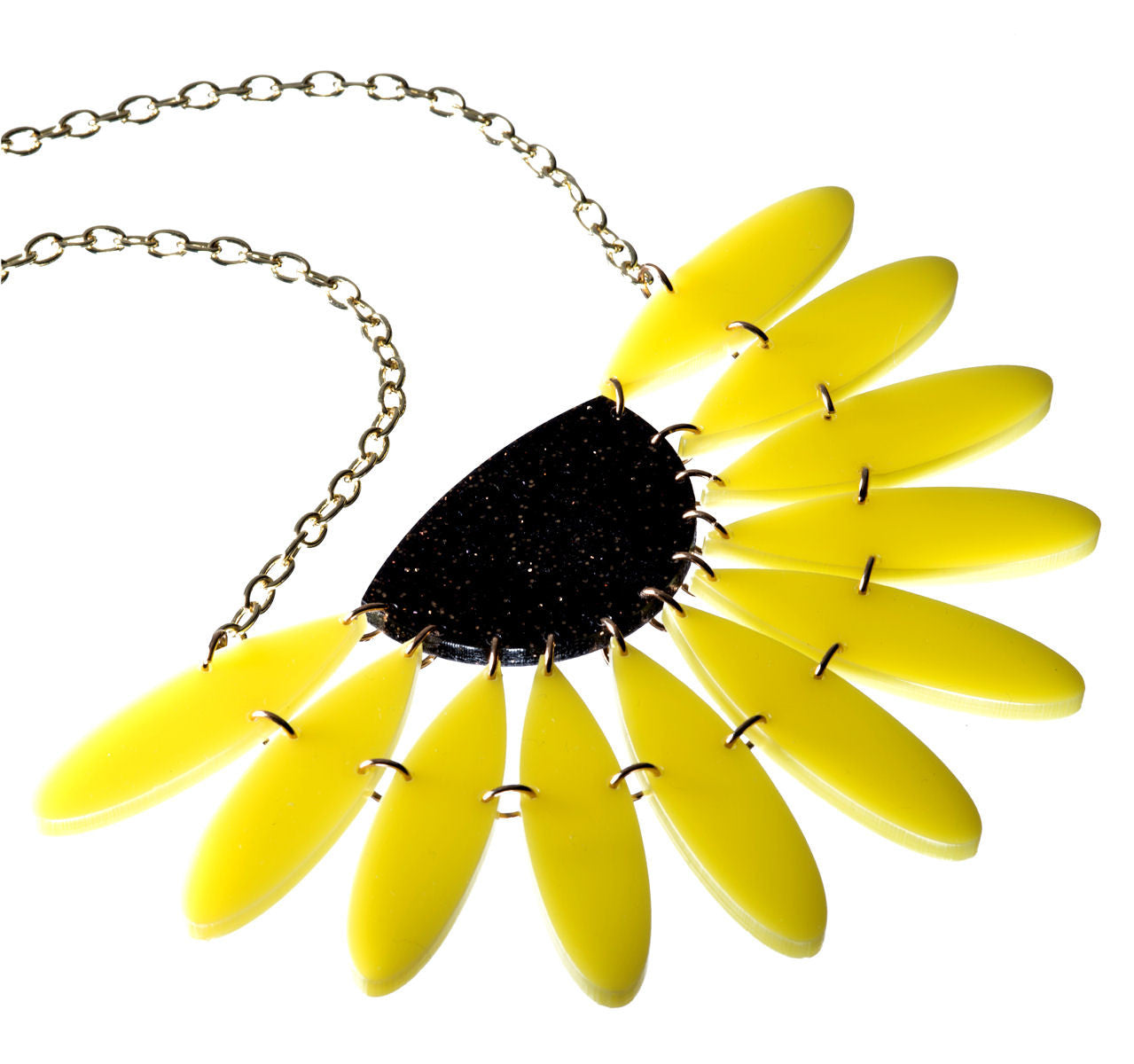 Sugar & Vice Sunflower Necklace