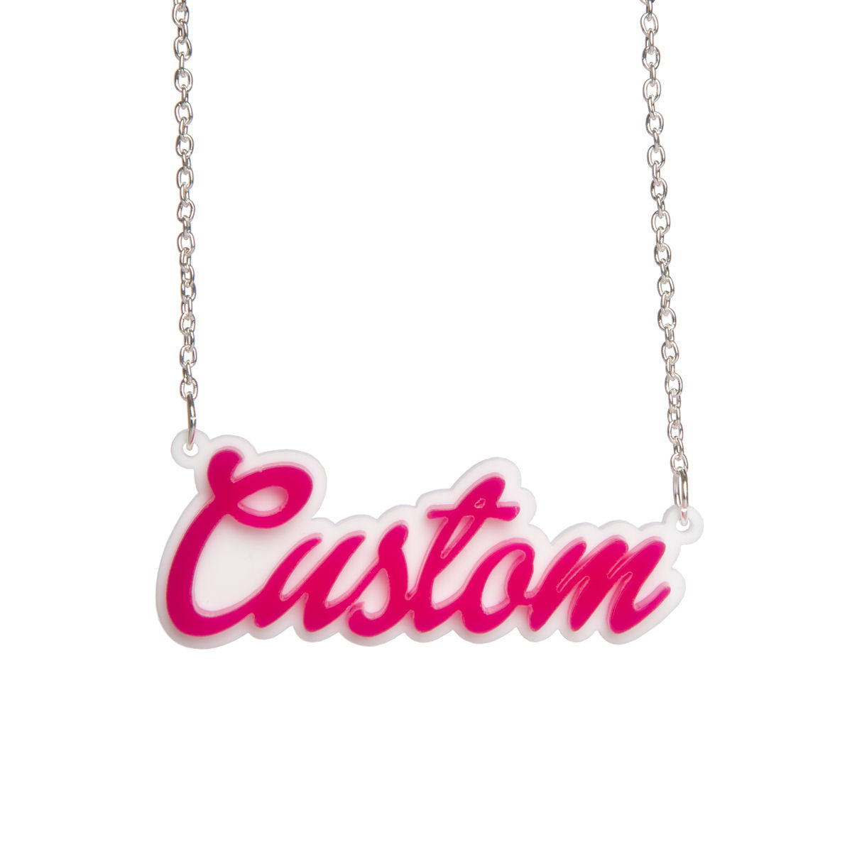 Sugar & Vice Barbie Name Necklace