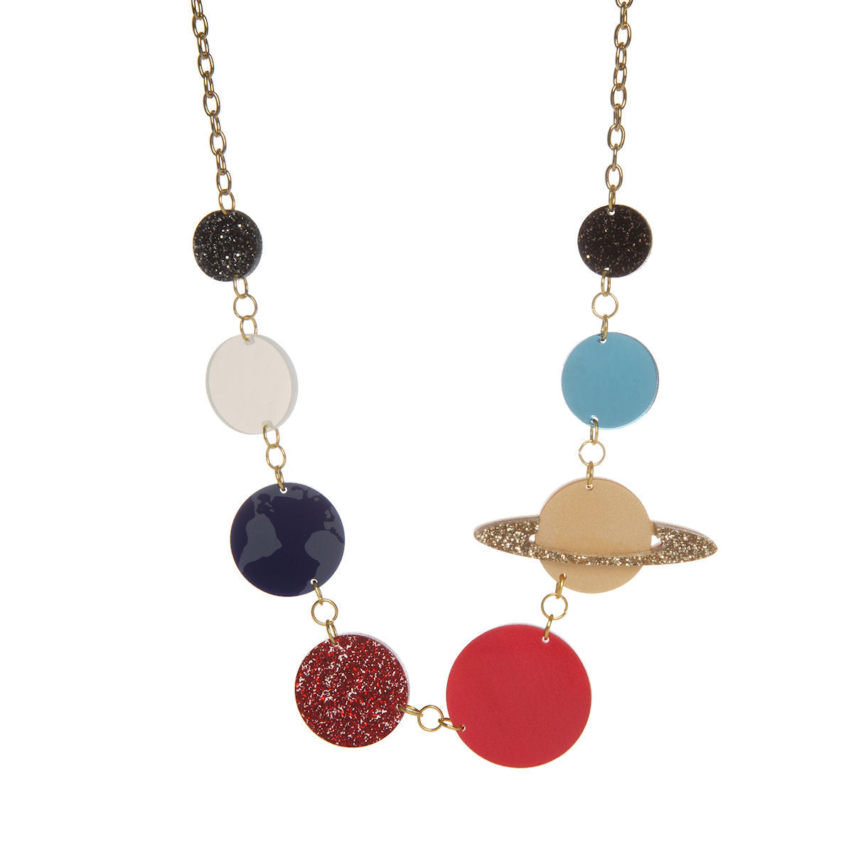 Sugar & Vice Solar System Necklace