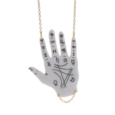 Palmistry Hand Necklace