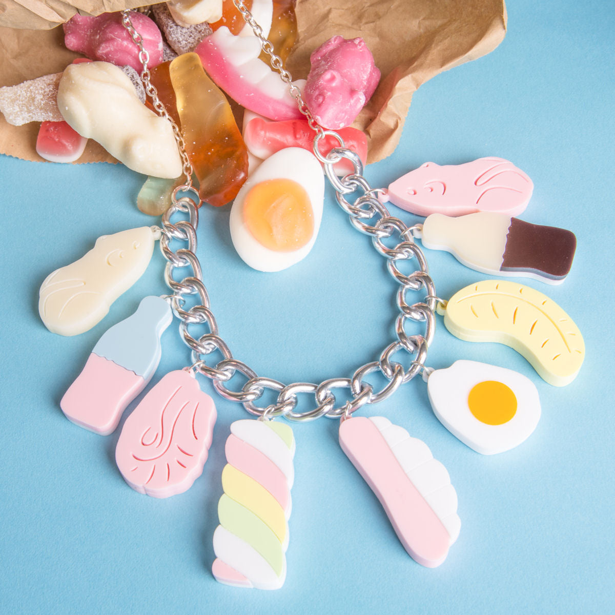 Sugar & Vice Pick N Mix Necklace social media
