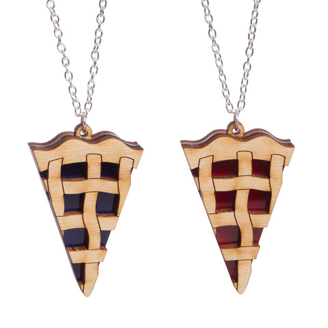 Lattice Pie Necklace
