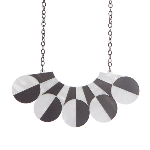 Monochrome Collar Necklace