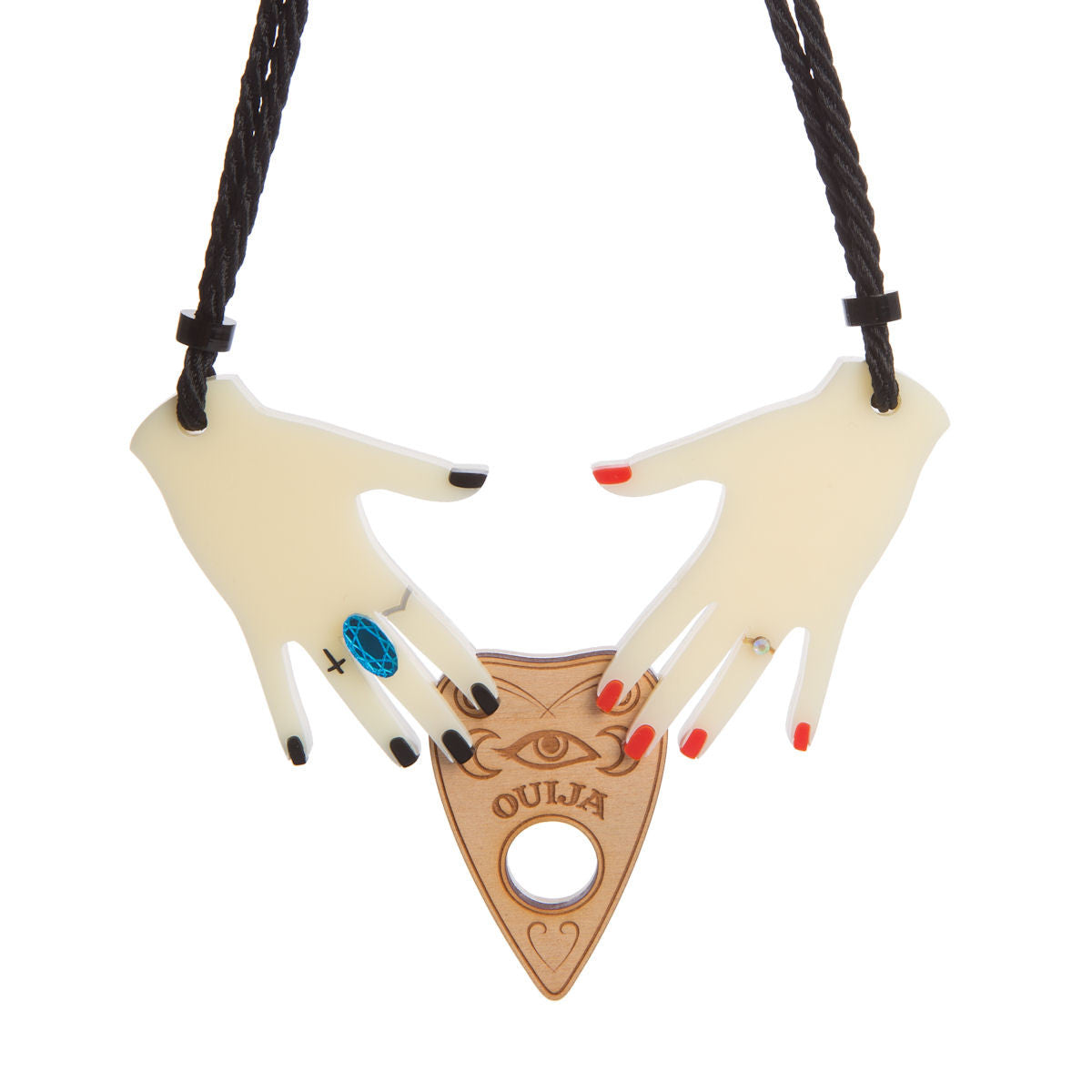 Sugar & Vice Summoning Hands Necklace