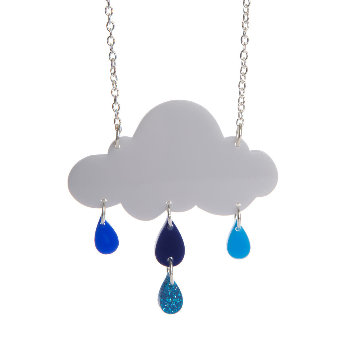 Sugar & Vice Rain Cloud Necklace
