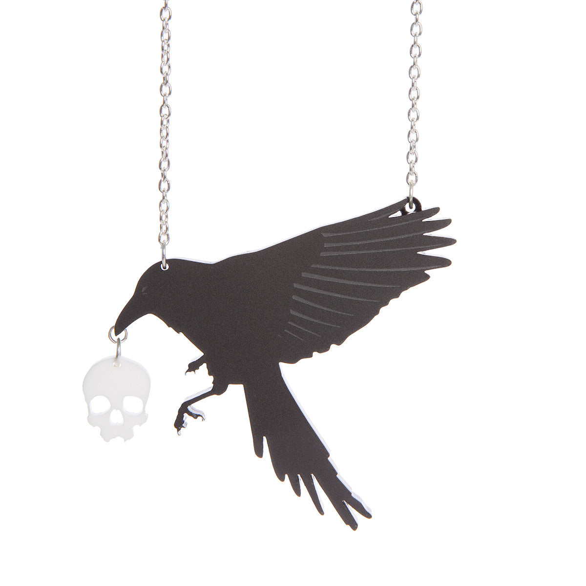 Sugar & Vice Raven Necklace 1