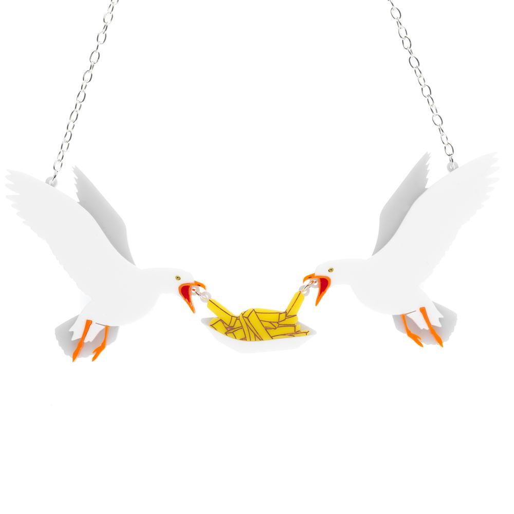 Sugar & Vice National Maritime Museum Seagulls Necklace