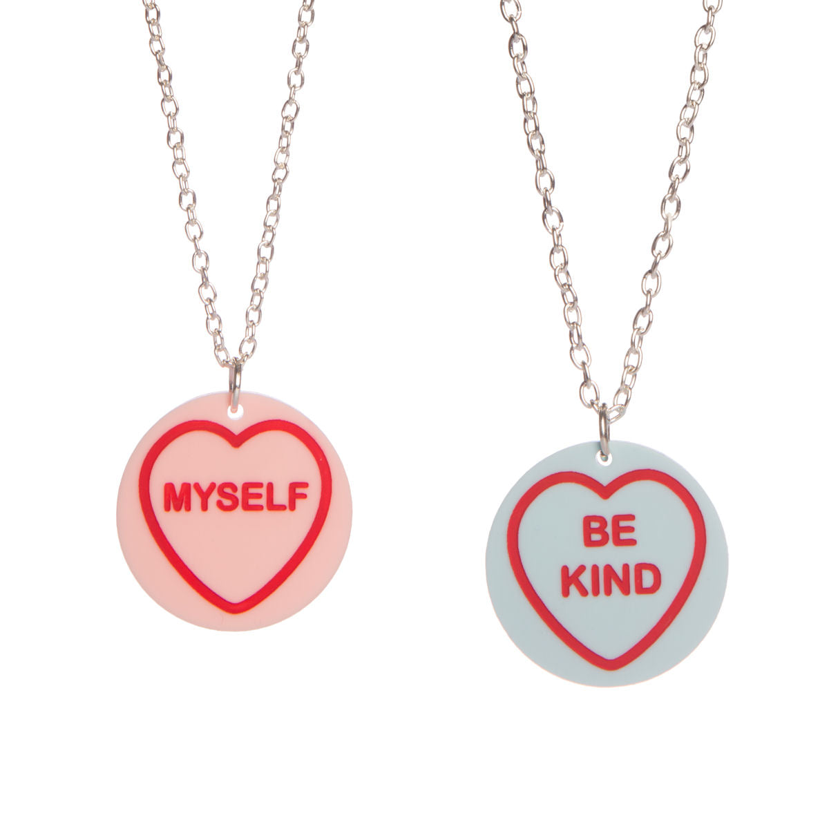 Sugar & Vice Self Love Hearts Necklace