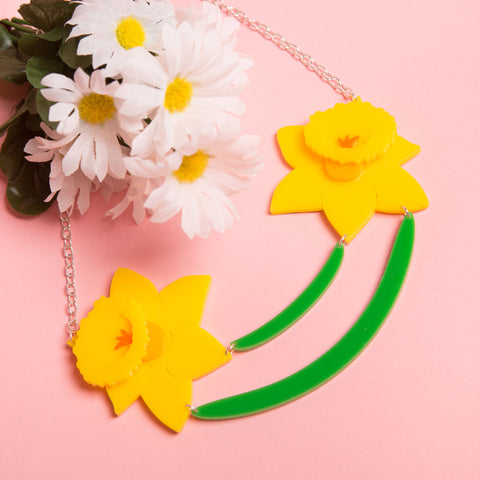 Daffodils Necklace