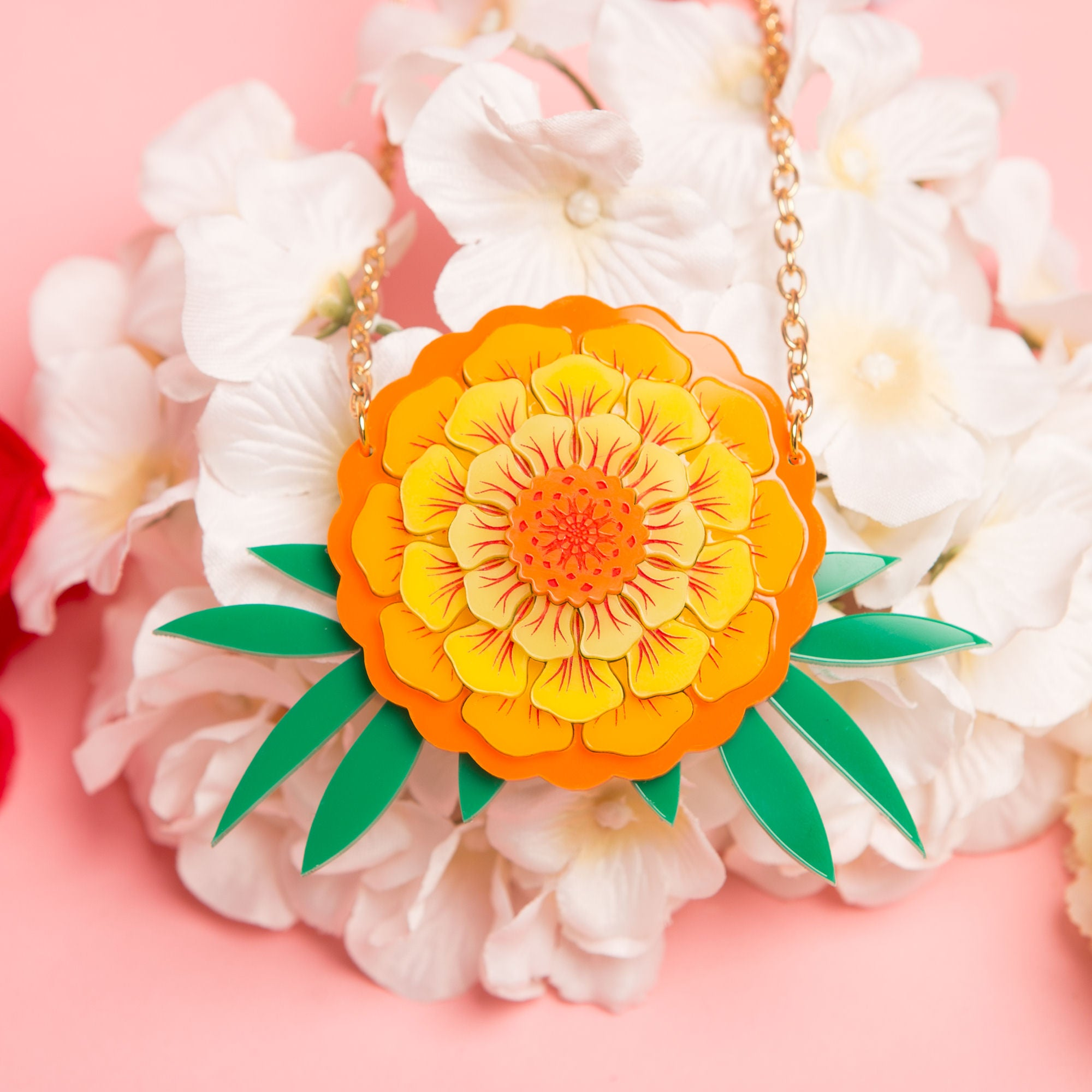 Marigold Necklace