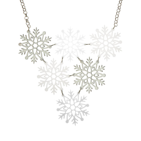 Snowflakes Necklace