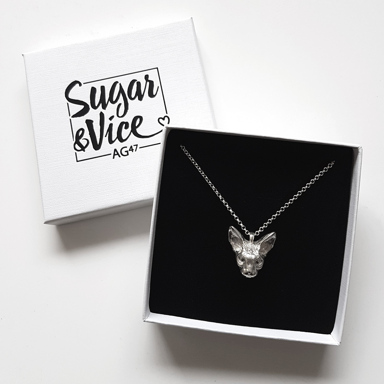 Sugar & Vice AG47 Cat Necklace