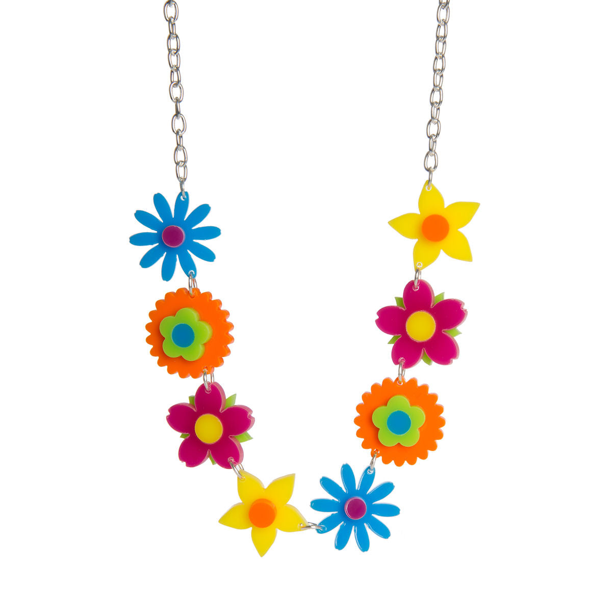 Sugar & Vice Spring Flowers Necklace
