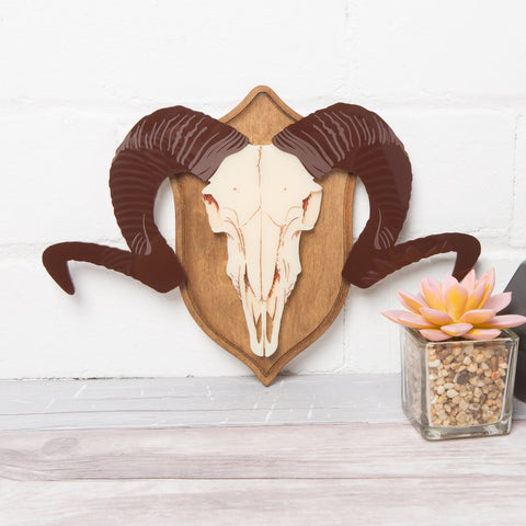 Mounted Stags Head Wall Art