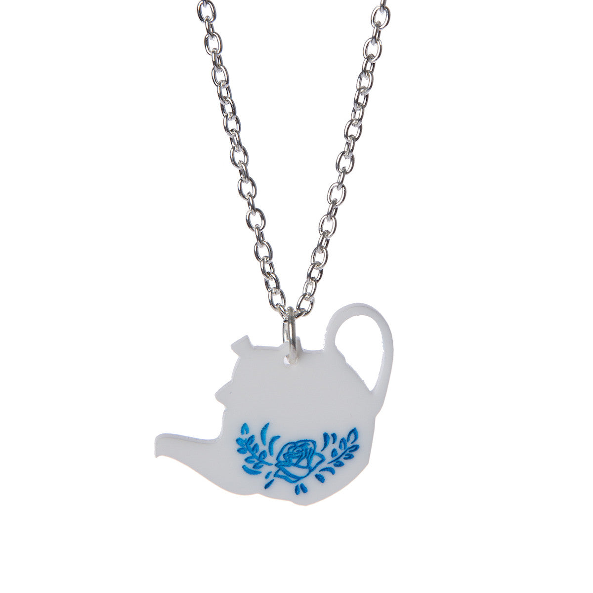 Sugar & Vice Teapot Necklace