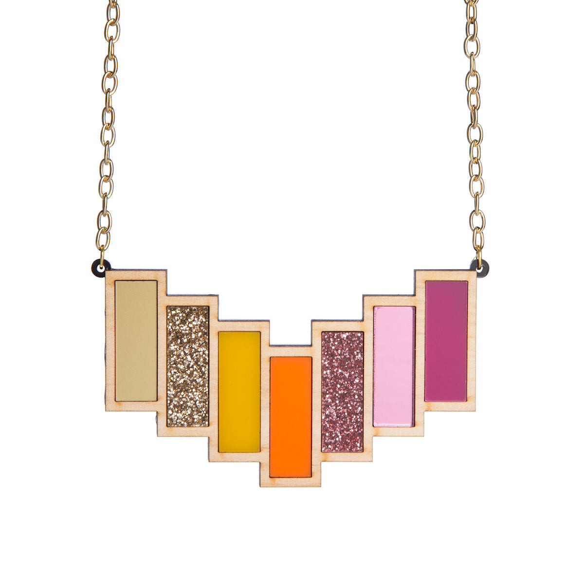 Sugar & Vice Tequila Sunrise Necklace