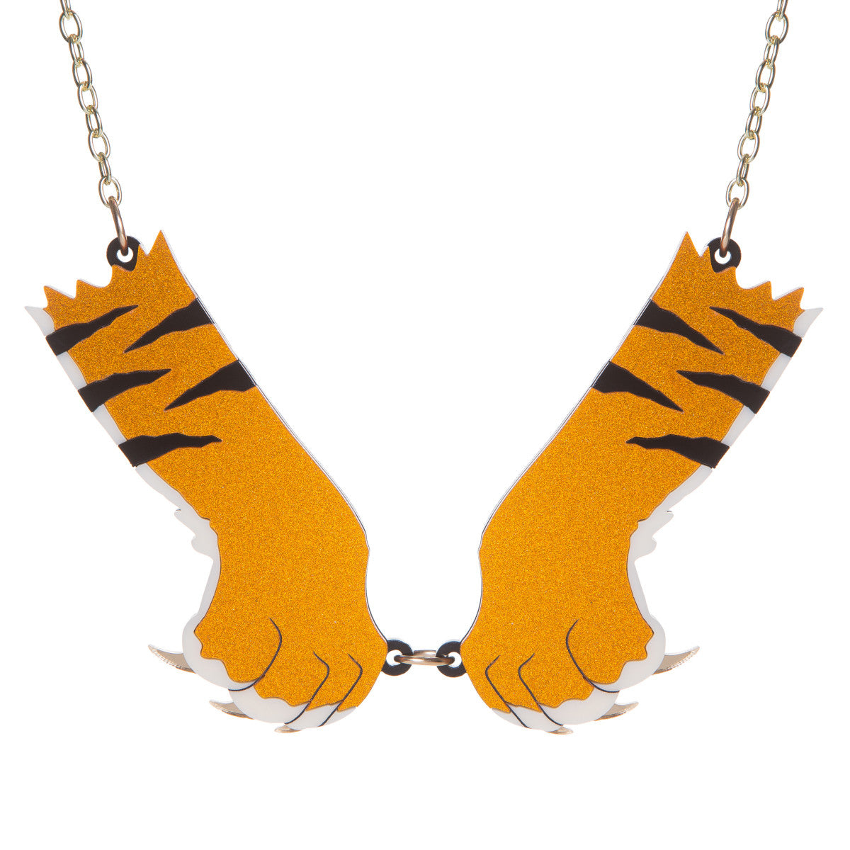 Sugar & Vice Tiger Paws Necklace