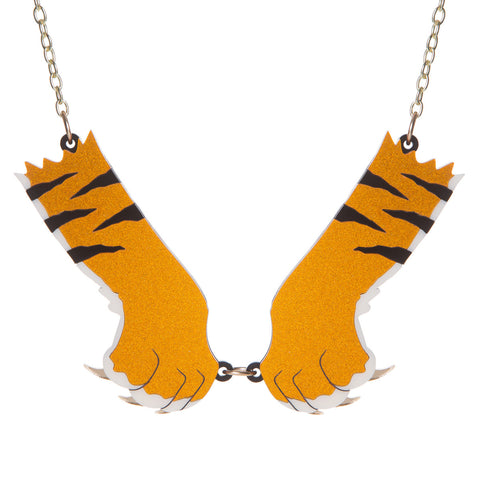 Tiger Paws Necklace