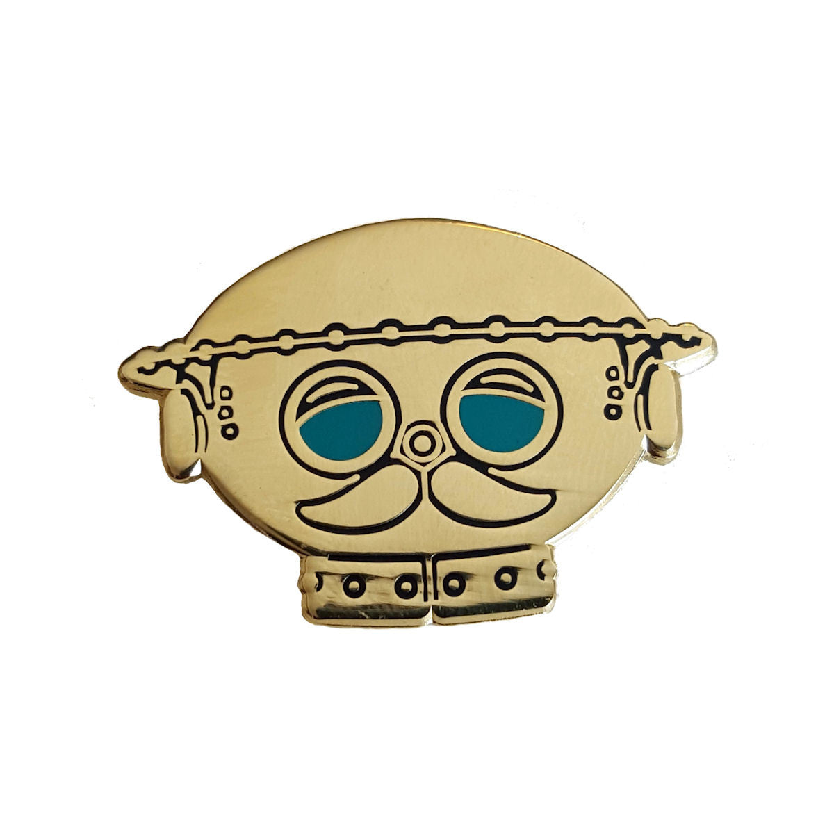 Sugar & Vice Tik Tok Enamel Pin